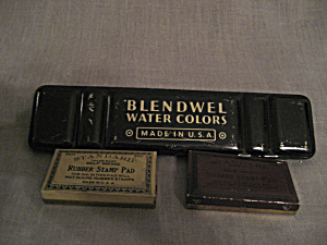 Water Color and Rubber Stamp Tins (Image1)