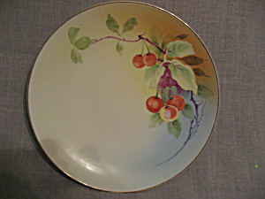 Hand Painted Nippon Plate (Image1)