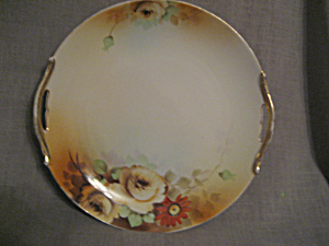 Gold Handled Nippon Plate
