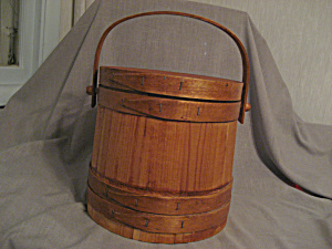 Vintage Firkin Or Sugar Bucket