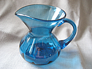 Hand Blown Pitcher