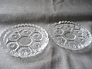 Crystal Coasters Or Ashtray From Italy