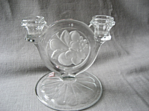 Indiana Glass Candle Holder (Image1)