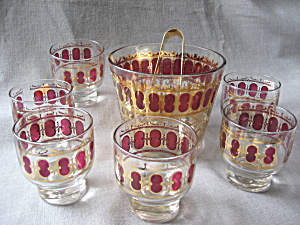 Ice Bucket And Glasses Set