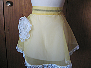 Yellow Wedding Apron