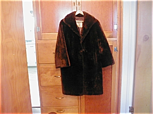 Vintage Pannofix Fur Coat From Hungary
