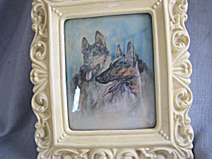 Chalkware Frame Picture