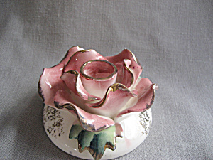 1950s Rose Lipstick Holder