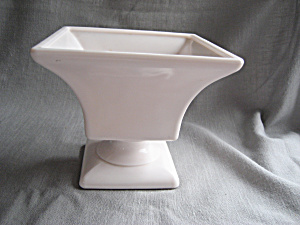 Pink Milk Glass Planter (Image1)