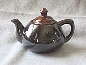 Small Brown Tea Pot From The Ming Tea Co.