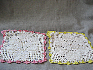 Hand Made Hot Pad Or Doilies