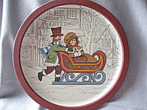 Christmas Tin Tray