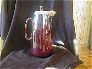 Hull Mirror Brown Coffee Pot (Image1)