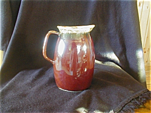 Hull Mirror Brown Milk Pitcher (Image1)