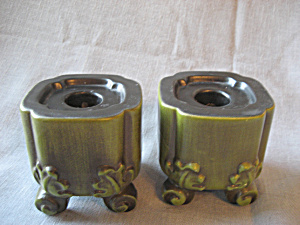 1970s Haeger Candleholders (Image1)