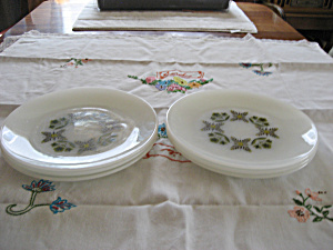 Anchor Hocking Meadow Green Plates