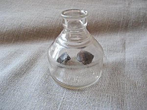 Vintage Glass Ink Bottle