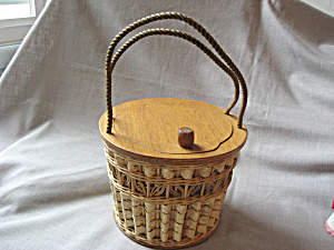 Wicker Sewing Basket (Image1)