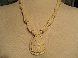 Bone Beaded Necklace (Image1)