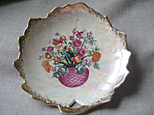 Hand Painted Flower Plate (Image1)