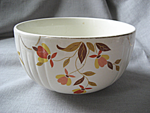 Hall Autumn Leaf Bowl