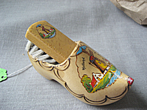 Wooden Shoe And Bush From Holland