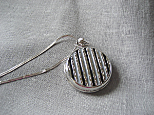 Quartz Pocket Watche with Silver Chain (Image1)