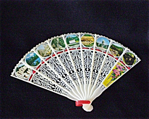 Colorado Souvenir Lucite Fan