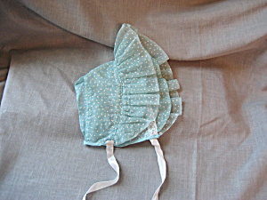 Green Polka Dot Bonnet (Image1)
