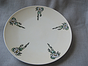 Hand Painted Plate From Bavaria