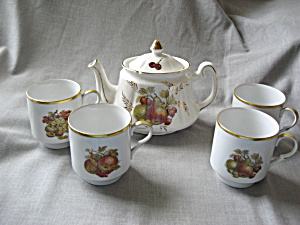 Price Tea Pot And Bavarian Cups