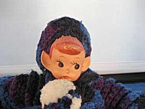Elf Doll Hand Made Knitted