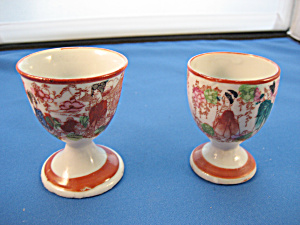 Geisha Girl Egg Cups