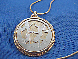 Avon Gold and Silver Genini Necklace (Image1)