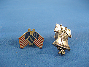 Two 1976 Pins