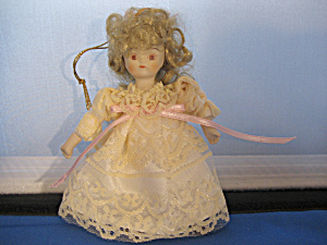 Ceramic Doll Ornament