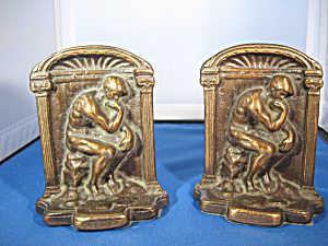 Brass Looking Book Ends (Image1)