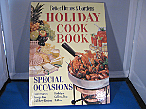 Better Homes & Garden Holiday Cookbook