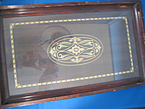 Wooden Inlay Serving Tray