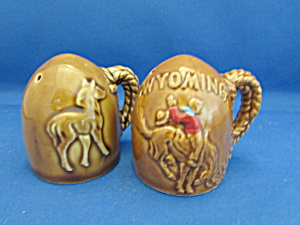 Wyoming Salt And Pepper Shakers