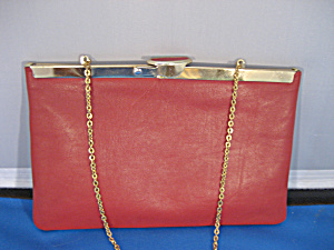 Red Leather ETRA Purse (Image1)