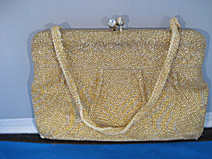 Gold Beaded Purse (Image1)