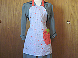 Strawberry Pocket Apron