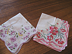 Two Colorful 100% Cotton Handkerchiefs (Image1)