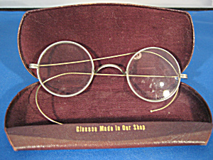 Gold Filled Eye Glasses With Case