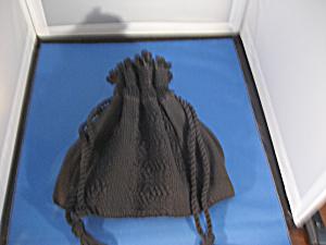 Black Cord String Purse (Image1)