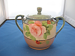 Lustreware Sugar Bowl