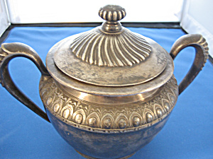Middletown Silver Sugar Bowl (Image1)