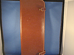 Genuine Leather Tie Holders