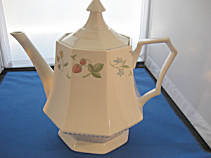 Independence Ironstone Coffee Pot